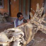 Houtsnijwerk Bali
