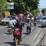 Links rijden op Bali