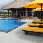Zwembad prive villa op Bali