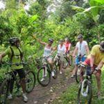 Mountainbiken in de natuur op Bali