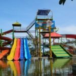 Waterglijbanen op Bali