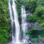 Git git waterval op Bali