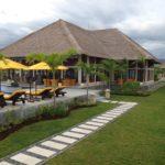 tropische tuin villa op Bali