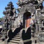 Buurt tempel op Bali