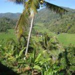 Spectaculaire uitzicht op Bali