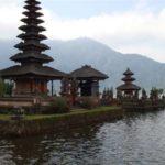 Tempel Bratan meer