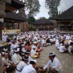 Ceremonie op Bali