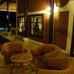 Uitzicht naar Balinese zee