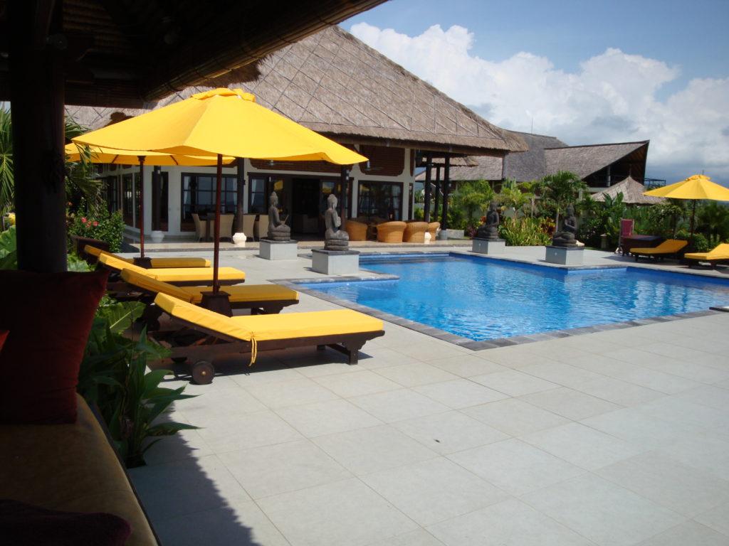 Bungalow met tuin en zwembad op Bali huren