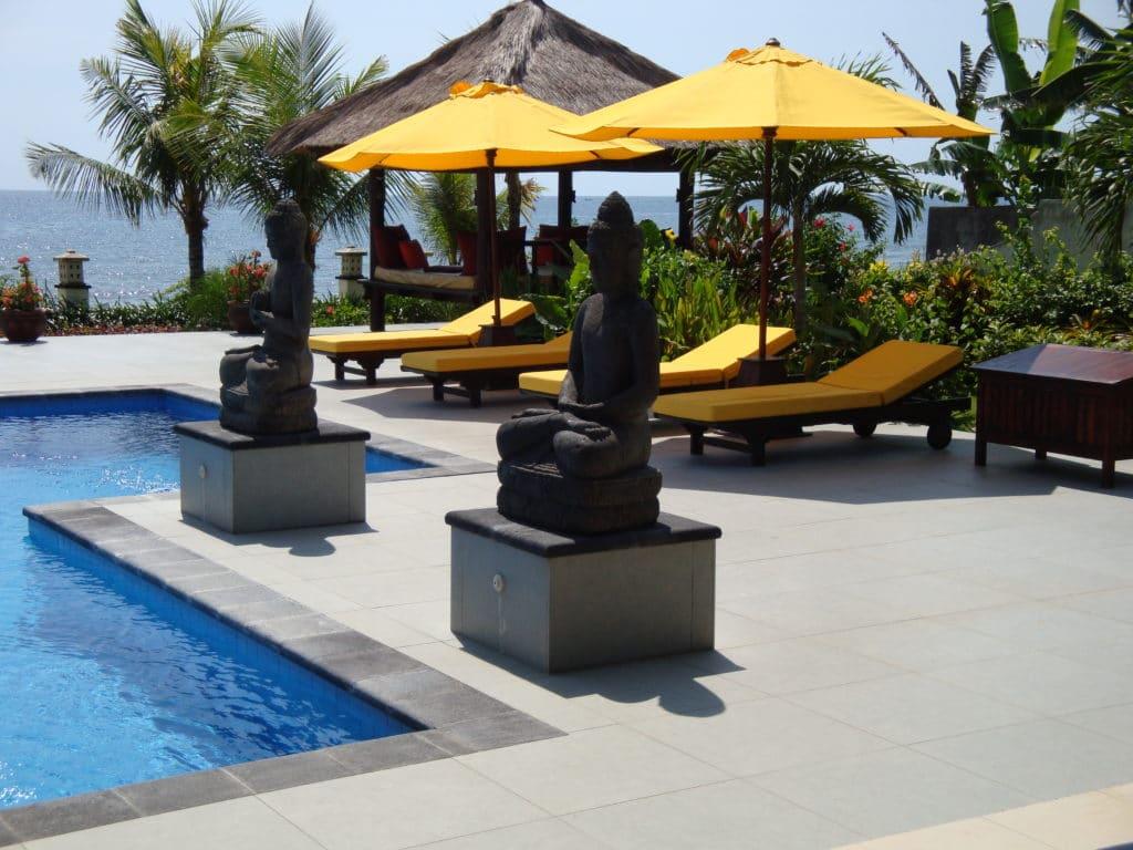 Vakantiehuis aan zee op Bali huren